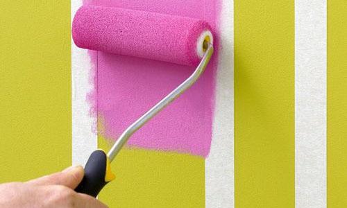 Como pintar listras nas paredes politintas f cil pintar aqui - Pintar facil paredes ...