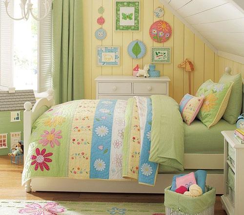 Cores para quartos de crianças