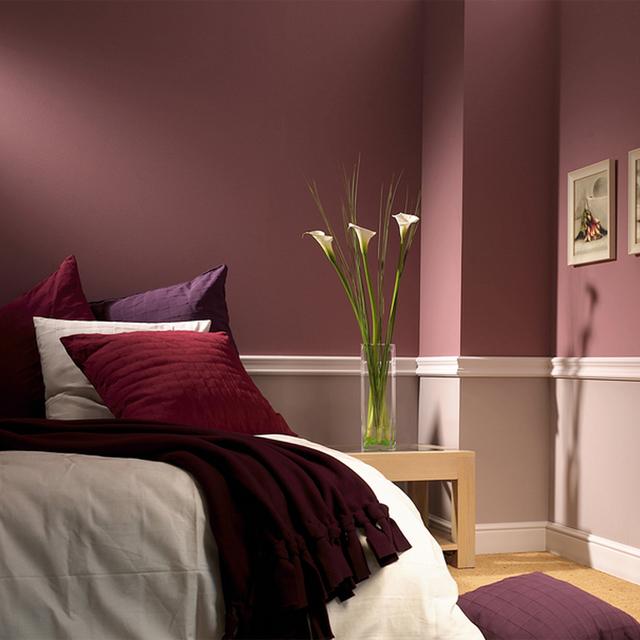 O Rodameio Gart serviu para dividir a parede dando um ar sofisticado a parede.