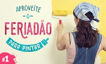 Aproveite o feriadão para pintar Como preparar as paredes antes de pintar