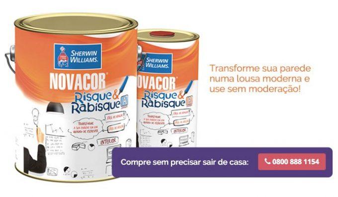Novacor Risque & Rabisque - Compre pelo Televendas