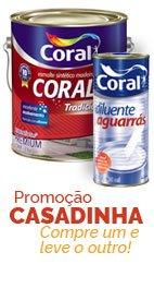 Casadinha - Coralit Esmalte ganha 1 litro de Agua Raz