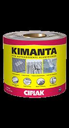 Fita Kimanta Aluminizada 15cmx10m - Politintas