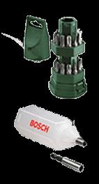 Kit de pontas Big Bit com 25 pecas Bosch - Politintas