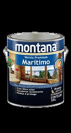 Verniz Marítimo Acetinado Montana 3,6l