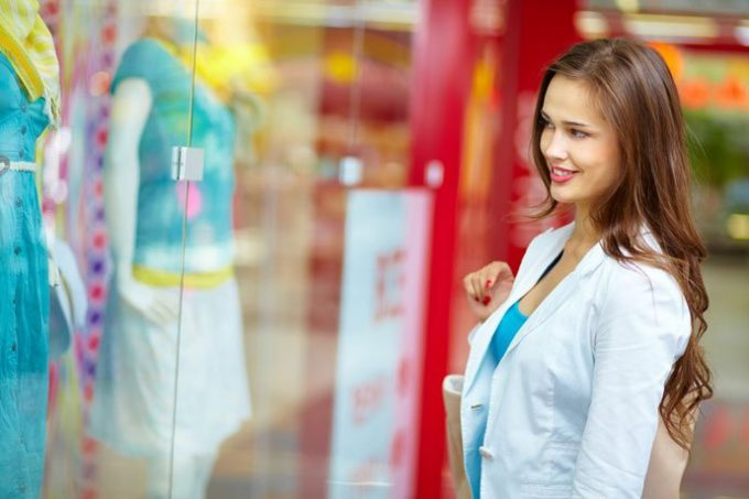 Cores nas lojas influenciam aumento de vendas