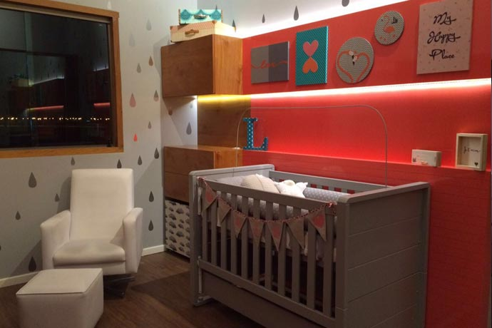Decoração quarto do bebê - Quarto da Lis
