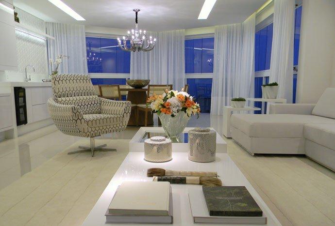 Sala de estar residencial - Max Mello