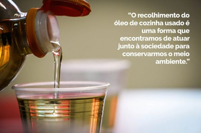 o que fazer com óleo de cozinha usado?