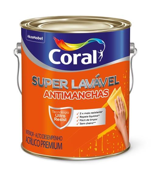 lata Coral Superlavável