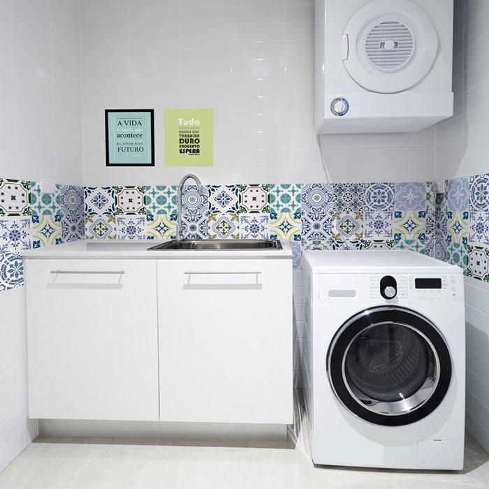 Tecido adesivo - lavanderia