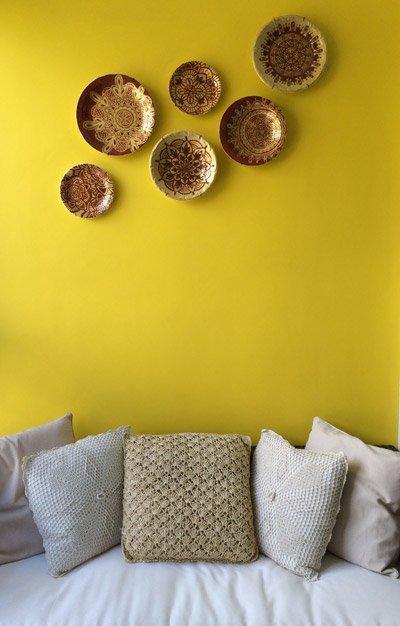 Tendência de cor para primavera: amarelo