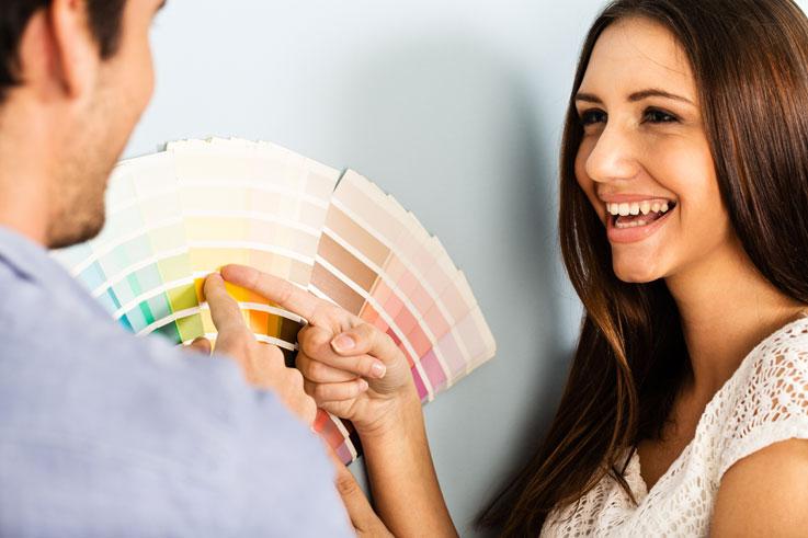 Dicas para escolher a cor da tinta